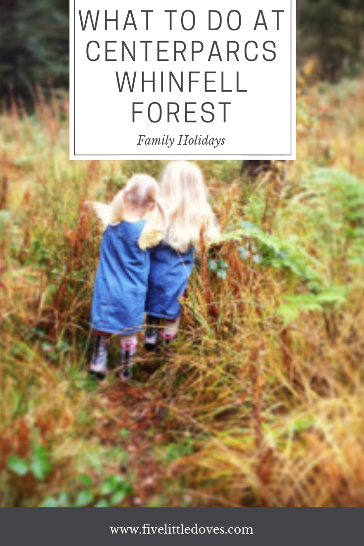What To Do At Centerparcs Whinfell Forest | Plan the ultimate family holiday to Centerparcs. The post has all the experiences we shared when staying at Centerparcs with 4 children. There are lots of activities to suit tweens and toddlers - so check out what we got up to www.fivelittledoves.com