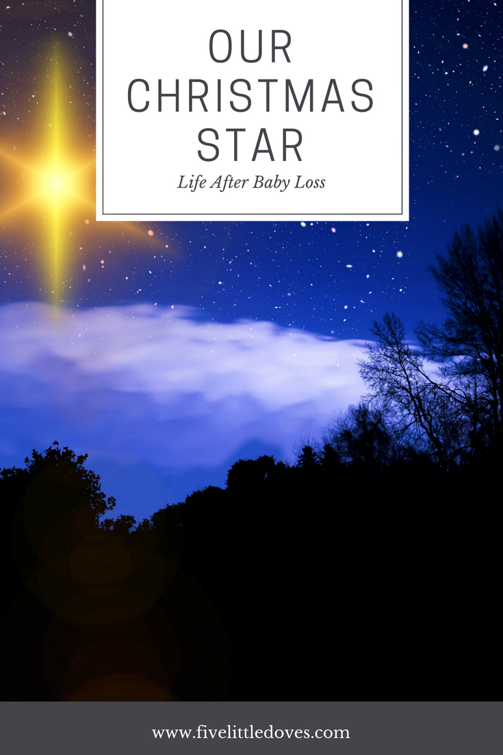 Our Christmas Star | Preparing for the holiday season. In this post a mother writes about preparing for the 9th Christmas after her son was still born www.fivelittledoves.com