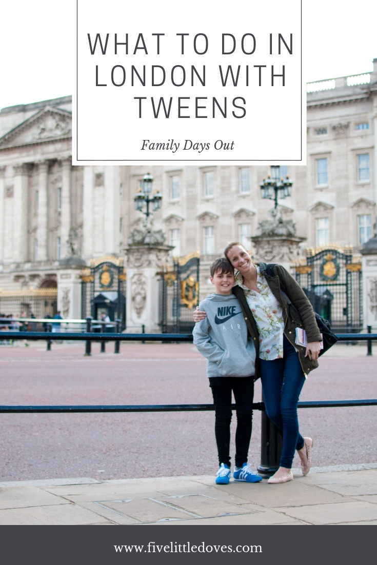 What To Do In London With Tweens | Planning the perfect day out in a big city with tweens can be tough. They are too young for something, and others seem too childish. Strike a balance but taking them to see some of these sights that will capture their attention and give them the best day out you could imagine. A perfect excuse for a mother and son date, or a trip for the whole family www.fivelittledoves.com