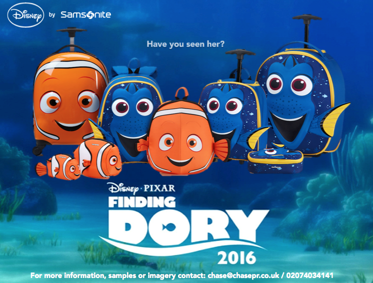 Review – Finding Dory Samsonite Luggage