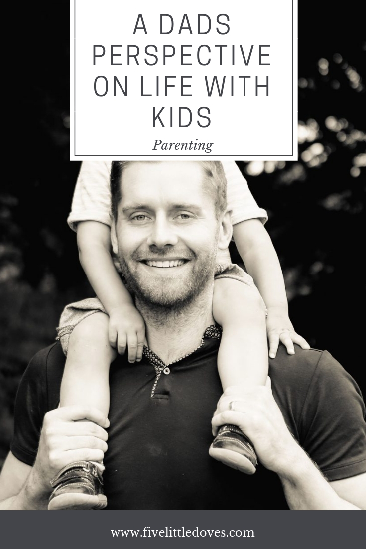 A Dads Perspective On Life With Kids | Would a dad breastfeed if it was magically possible? How many kids would they like to have? What is a dads must have parenting item? www.fivelittledoves.com