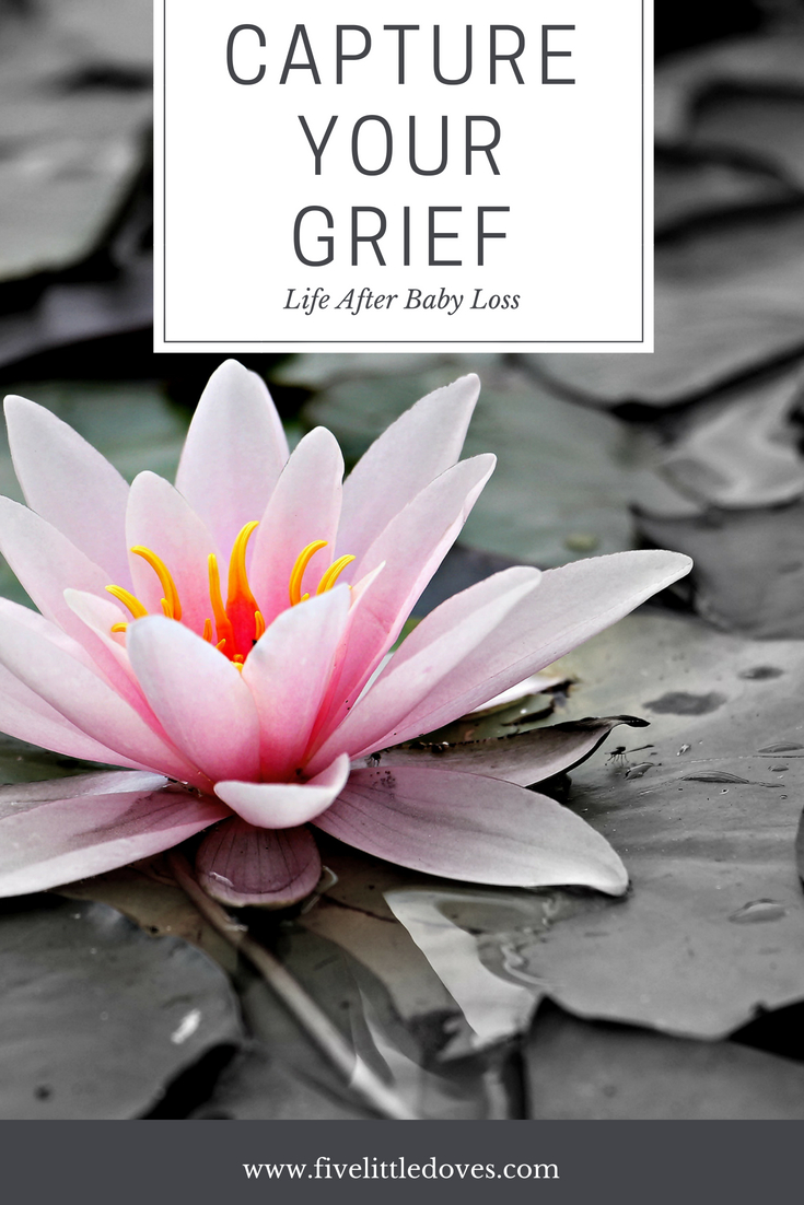 Capture Your Grief | For baby loss awareness month this mother shares how losing her son is more than just grief, how all the moments throughout her pregnancy define her relationship with her son and what the grief of a bereaved parent is like when face with life after baby loss www.fivelittledoves.com