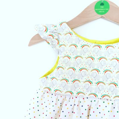 A festive rainbow Giveaway – featuring Princess & The Frock