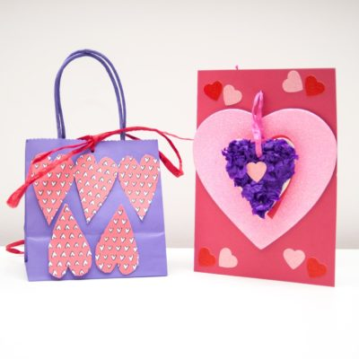 Three simple Valentines crafts for children