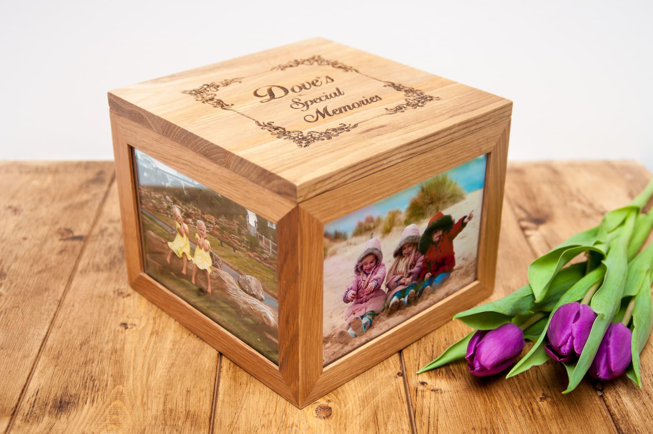 Celebrating Mothers: Win a personalised keepsake box!