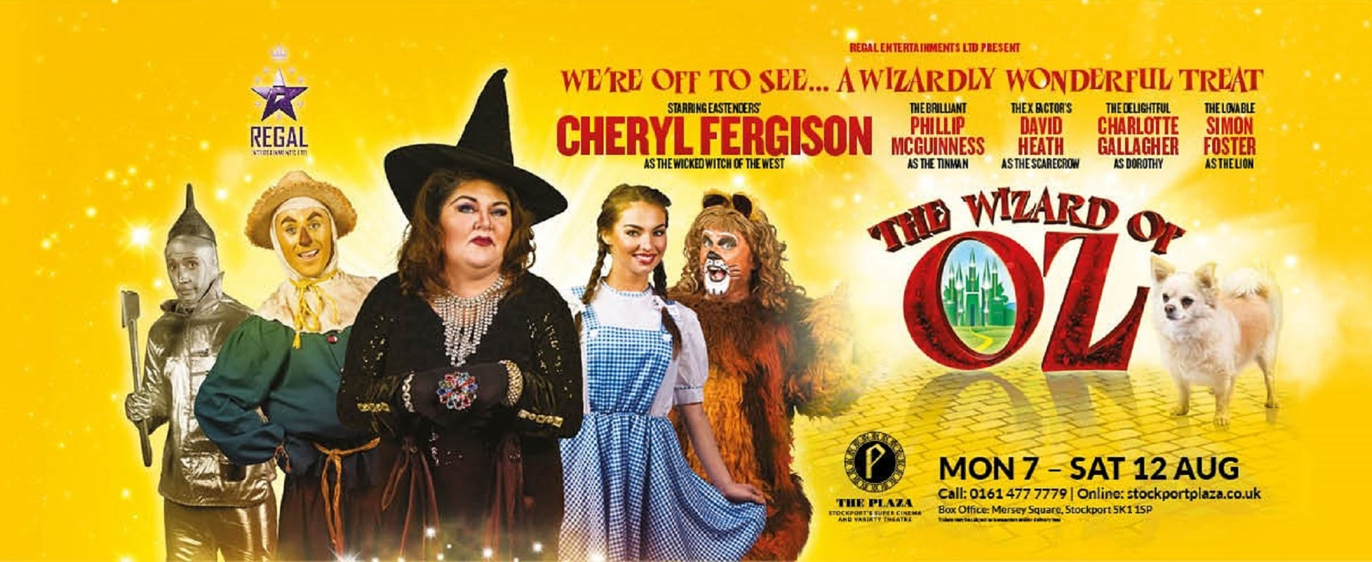Win The Wizard of Oz family ticket, Stockport Plaza