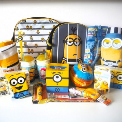 Top 10 back to school must haves with Despicable Me 3