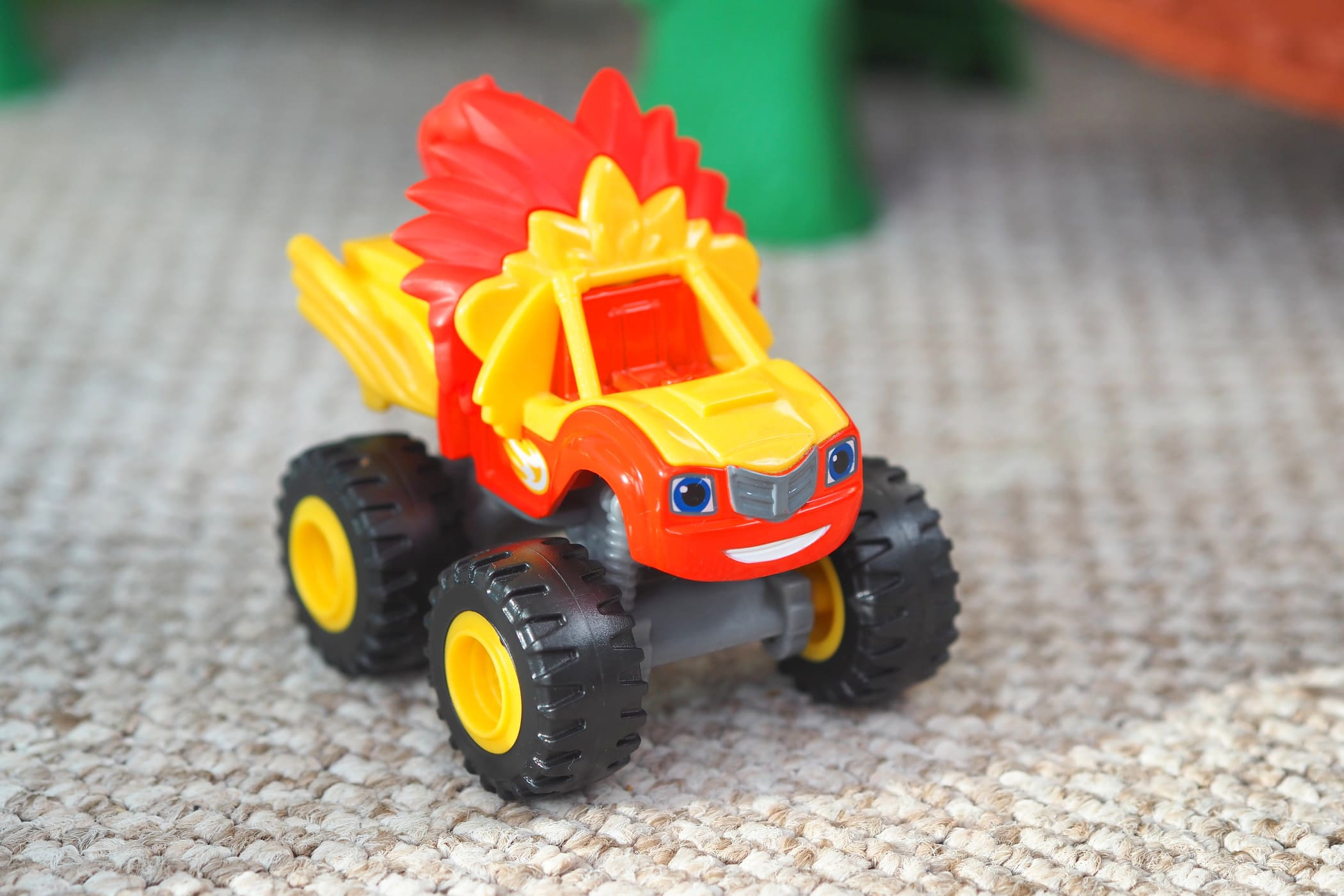 Fisher Price Blaze And The Monster Machines Animal Island Stunts Speedway Five Little Doves