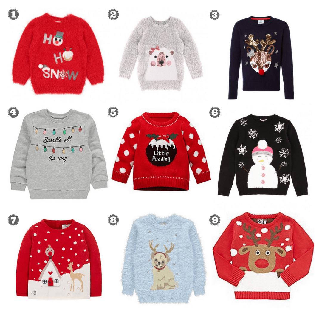 the best christmas jumpers for kids five little doves. Black Bedroom Furniture Sets. Home Design Ideas
