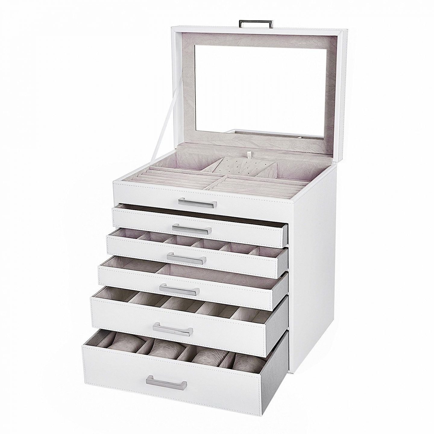 songmics jewellery storage case organiser review giveaway five little doves. Black Bedroom Furniture Sets. Home Design Ideas