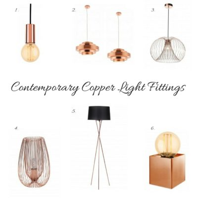 Win Contemporary Copper Floor Lamp from First Choice Lighting