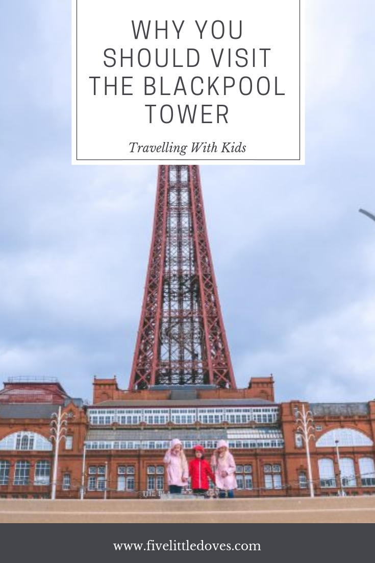 Why You Should Visit Blackpool Tower | Things have changed at Blackpool Tower and it now has eveyrthing you need for a fun family day out. There are family activities that everyone will enjoy - check out this post to find out what we got up to when we visited www.fivelittledoves.com