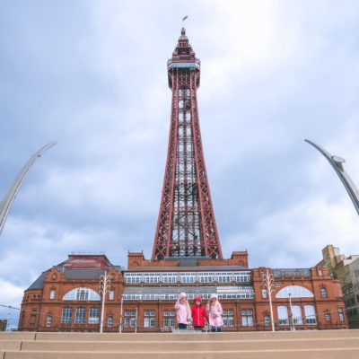 Our day out at Blackpool Tower