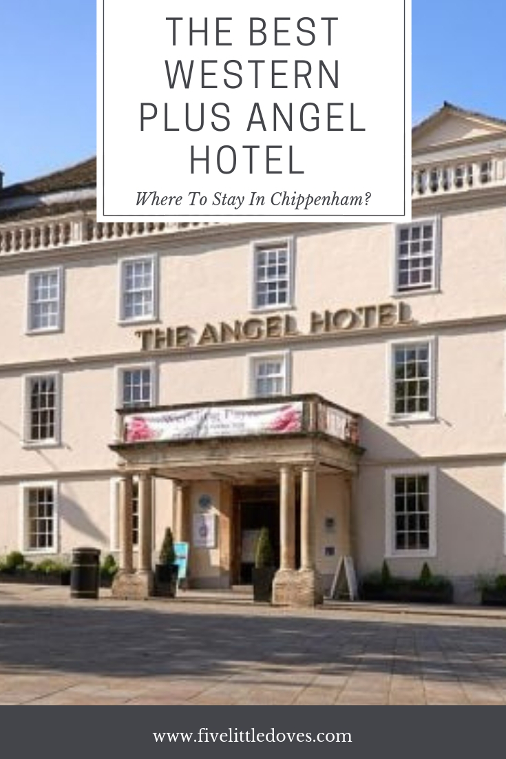 The Best Western Plus Angel Hotel - Where To Stay In Chippenham? | If you are looking for a family friendly hotel with pool in Chippenham then take a look at The Angel Hotel. With great family rooms and facilities for all ages, it is in an ideal location if you need a hotel near Longleat Safari Park. This post gives one families review as they travel with their 4 children www.fivelittledoves.com