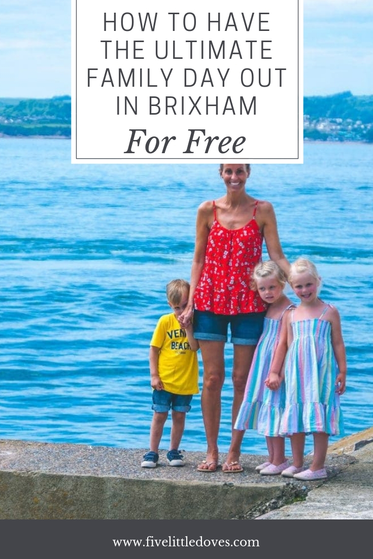 How To Have The Best Family Day Out In Brixham For Free | You can have a fun day in Devon without spending a penny. Perfect for a budget staycation. See what activities we got up to and what we did to have a free day out when we wanted to save some money www.fivelittledoves.com
