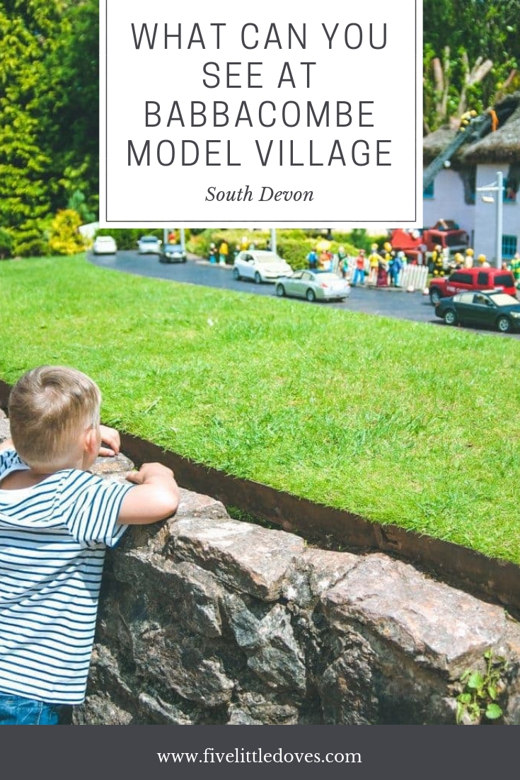 What Can You See At Babbacombe Model Village | A family day out in South Devon isn't complete without a trip to the model village. With immaculate gardens, perfect villages and special effects there is something for the whole family to enjoy. Check out this post to find out what you can see at Babbacombe Model Village www.fivelittledoves.com