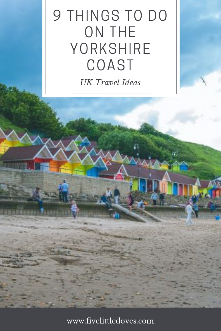 9 Things To Do On The Yorkshire Coast | If you have having a holiday in Yorkshire then you don't want to miss these 9 activities that the whole family will enjoy www.fivelittledoves.com