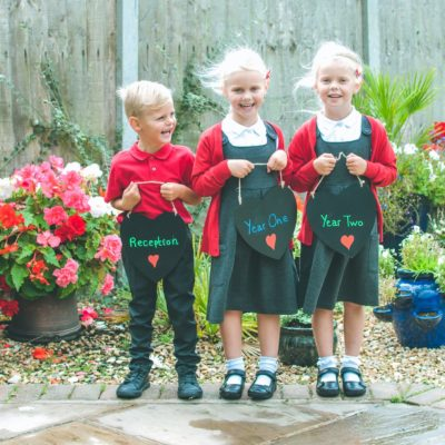 Back to school with Tesco F&F Uniforms