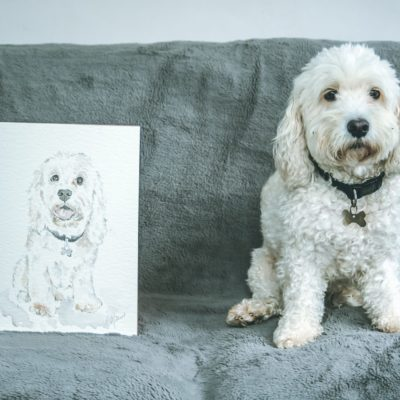 Carla Gebhard Designs: A Portrait of Oscar