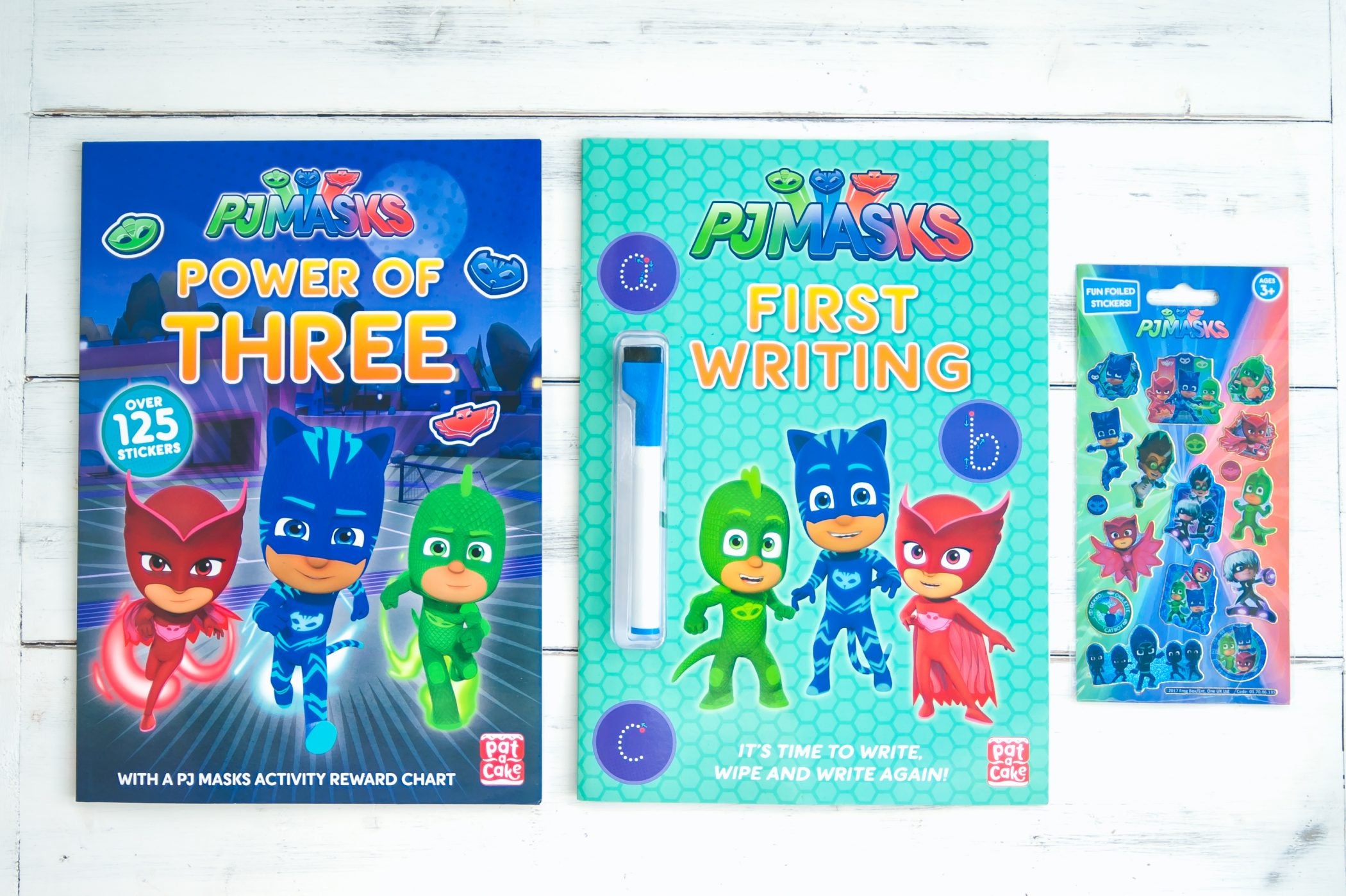 PJ Masks Activity Books