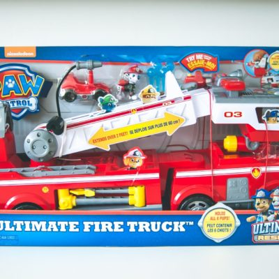 Review: PAW Patrol Ultimate Fire Truck