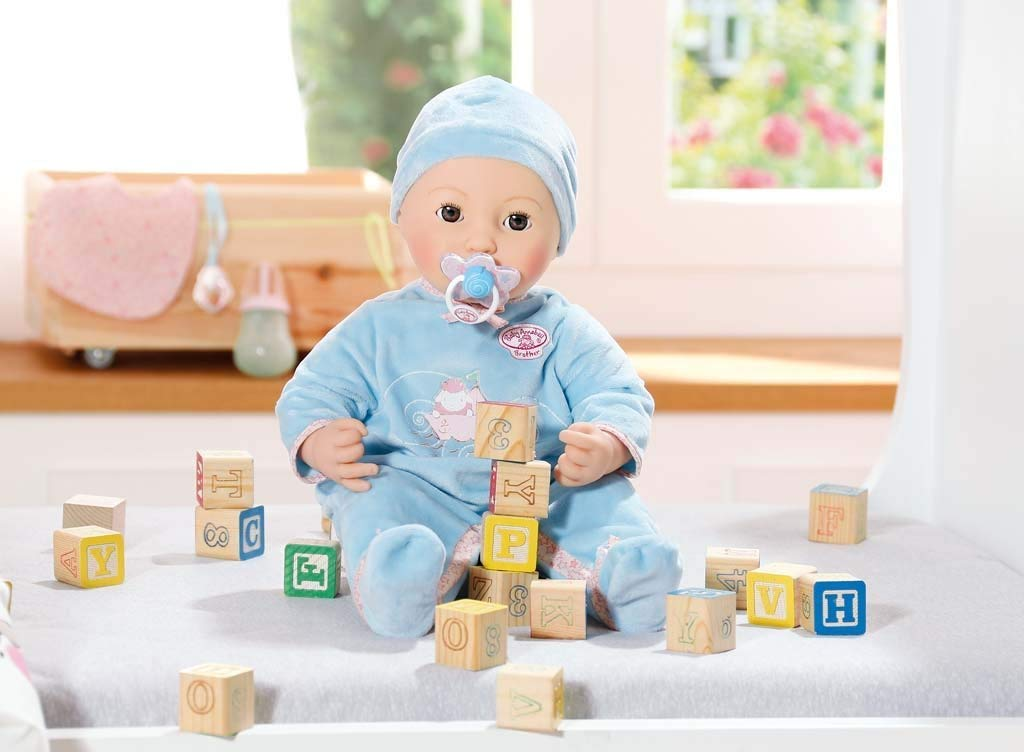 ** WIN ** Zapf Creation Baby Annabell Brother Doll - Five ...