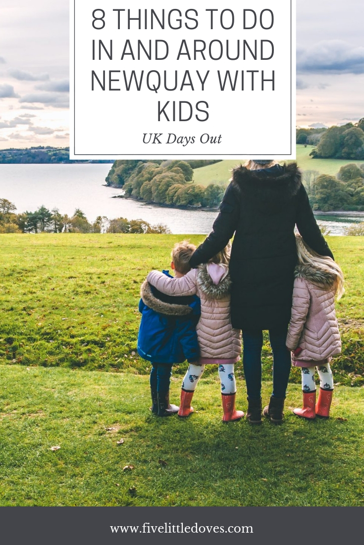 8 Things To Do In Newquay With Kids | There are loads of fun things to do in Cornwall with kids. These are our top 8 things to do in Newquay with children that you don't want to miss www.fivelittledoves.com
