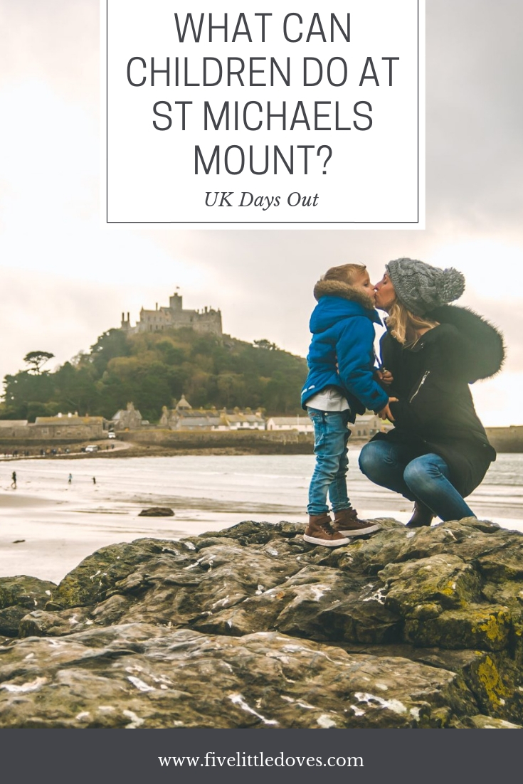 What Can Children Do At St Michaels Mount? | A day out with kids to st michaels mount can be perfect. These are the best activities for children that we could find. A family holiday in the UK full of fun activities for the whole family www.fivelittledoves.com