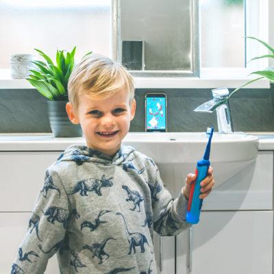 Playbrush: Banishing bathroom tantrums!