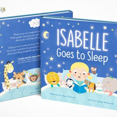 """** WIN ** """"Goes to Sleep"""" Personalised Children's Bedtime Book"""