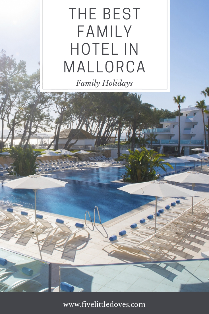 The Best Family Hotel In Mallorca | If you are looking for somewhere to stay in the Baleraric Islands on a summer holiday this year then check this out. The perfect family holiday location where the kids can play and you can relax by the pool. The ultimate family holiday location www.fivelittledoves.com