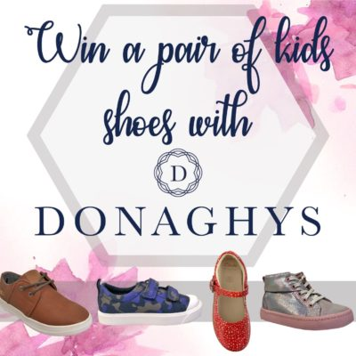 Win a pair of children's shoes with Donaghys £40