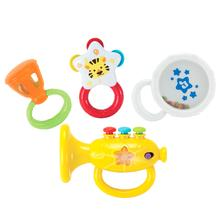 ** WIN ** Rattle Musical Instruments Set with Trumpet