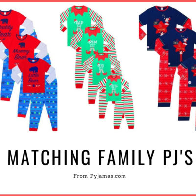 Matching Family Pyjamas from Pyjama Factory