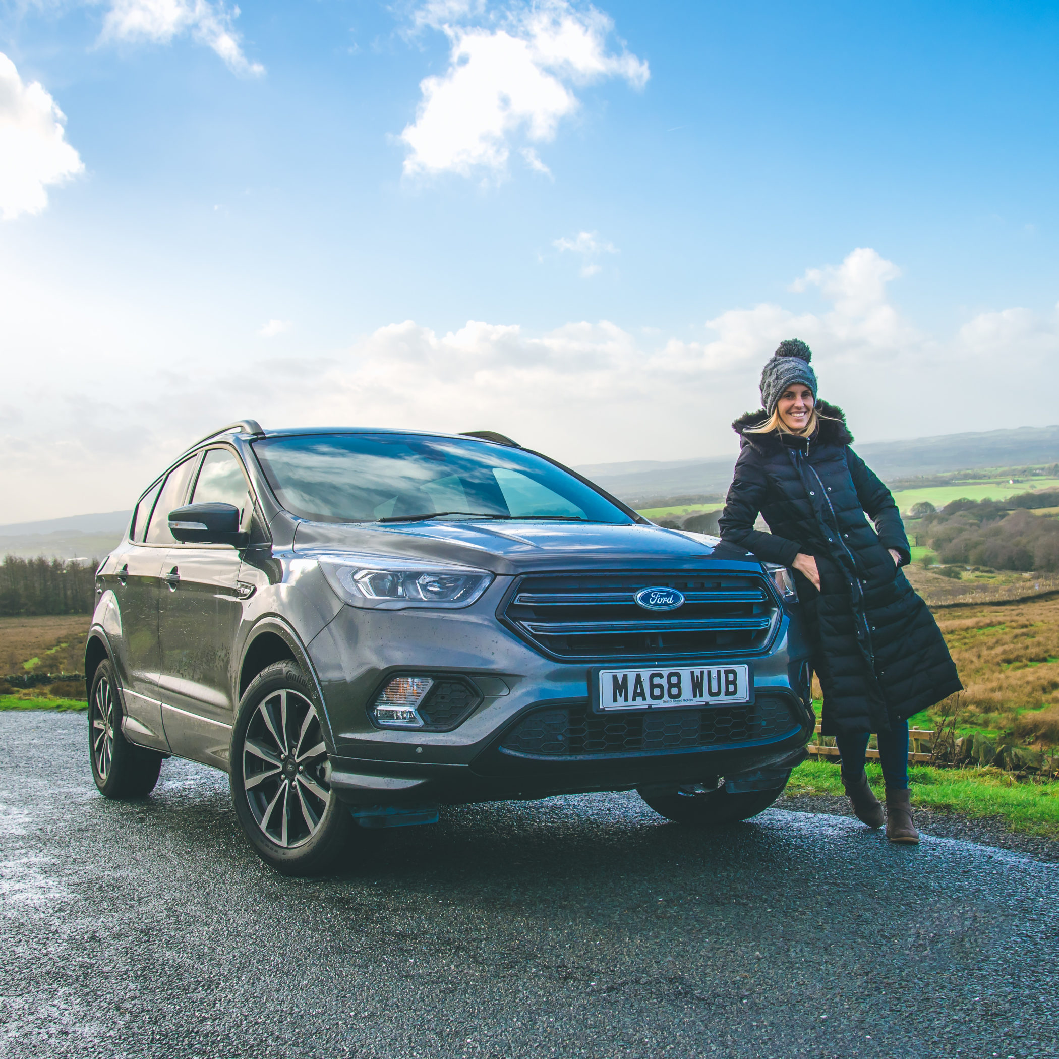 Reviewing The Ford Kuga With Bristol Street Motors Five Little Doves