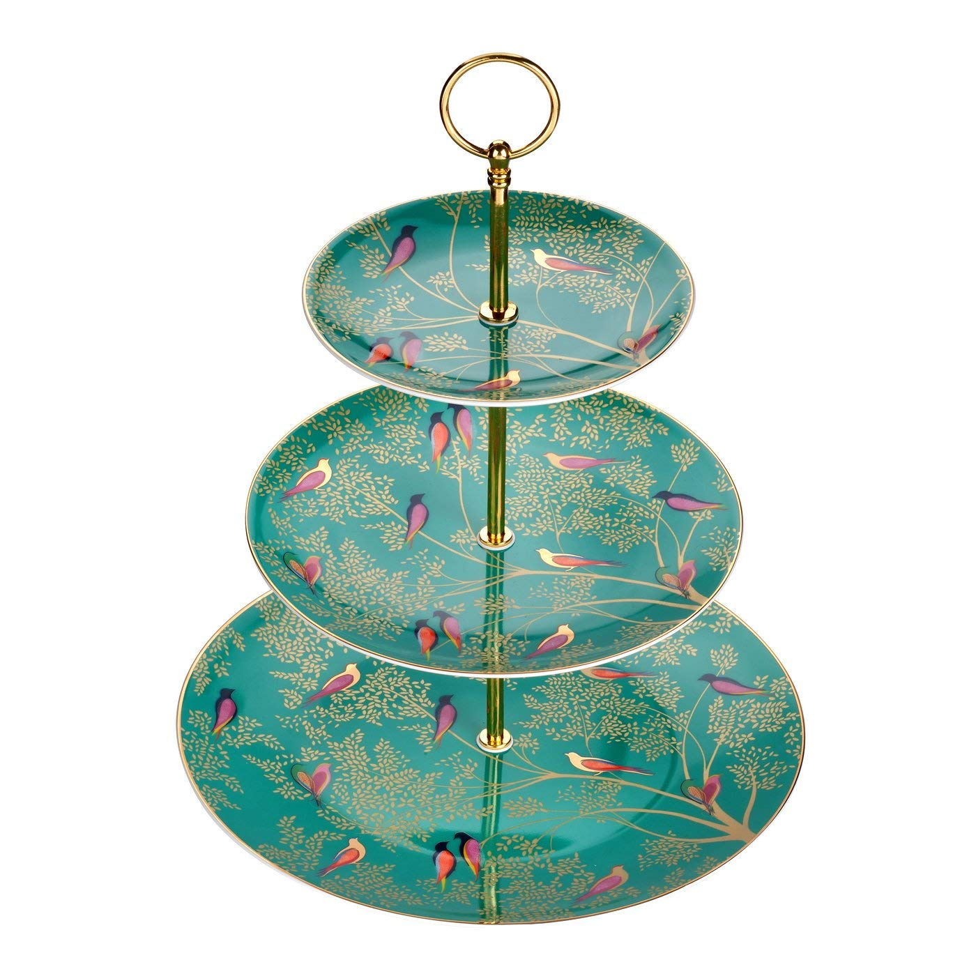 ** WIN ** Tea set and cake stand from Sara Miller & Portmeirion