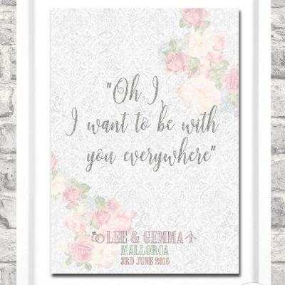 Samantha Jayne Creative: Win a bespoke A4 framed print!