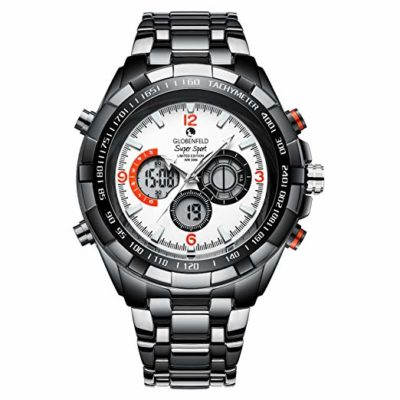 ** WIN Globenfeld White Super Sports Watch **