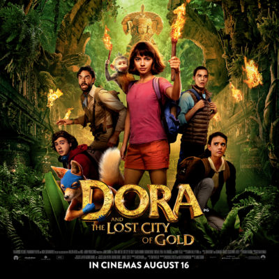 Dora and the Lost City of Gold: Win 1 of 5 Goodie Bags!