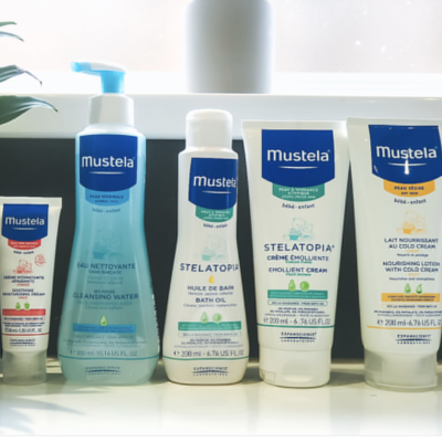 Win a bundle of Mustela skincare products