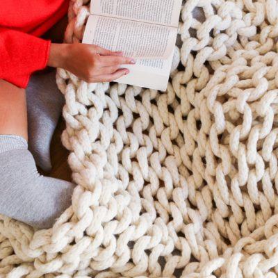 ** WIN ** We Are All Knitters Velky Blanket Knitting Kit £160