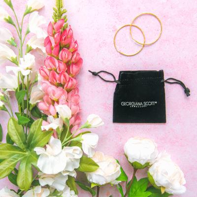 Georgiana Scott Jewellery: ROMA Hoop Earrings