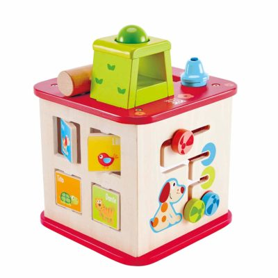 ** WIN ** Hape Pepe And Friends Activity Cube